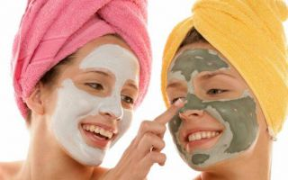 Применение масок для лица в домашних условиях