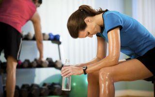 Тренировки и питание во время болезни