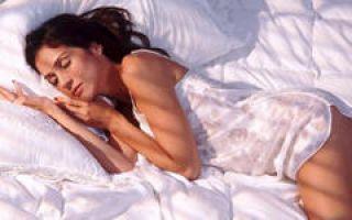 Как можно похудеть во сне