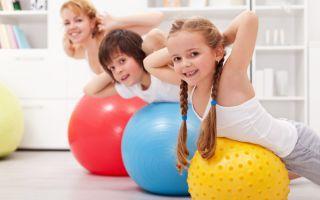 Физическая активность в дошкольном возрасте