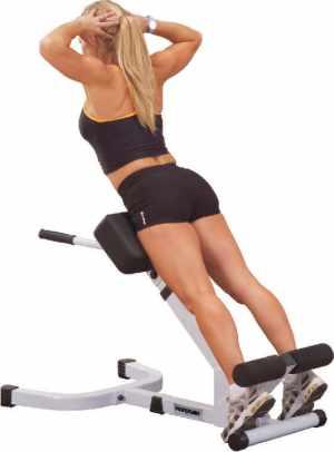 Упражнение гиперэкстензии
